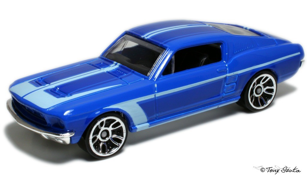 1967 Custom Mustang   Hot Wheels model R7520