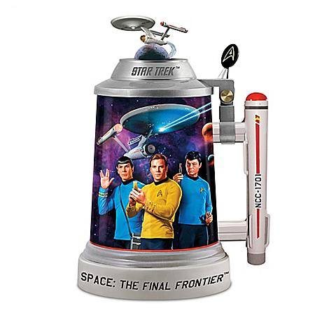 Star Trek Beer Stein Collectible