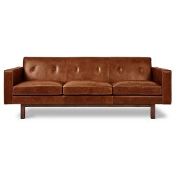 Small Crop Of Brown Leather Sofa