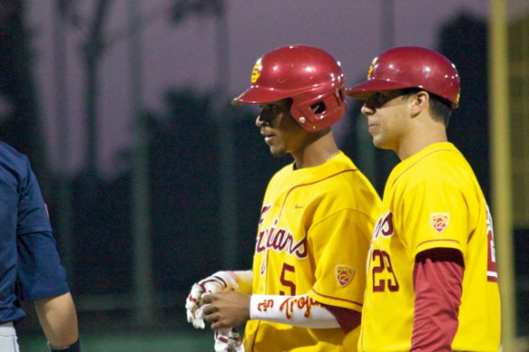 Reggie Southall had two hits for USC. (Photo: Shotgun Spratling)