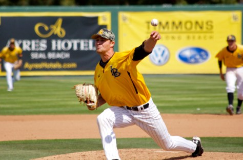 Nick Sabo combined for a two-hit shutout. (Photo: Shotgun Spratling)