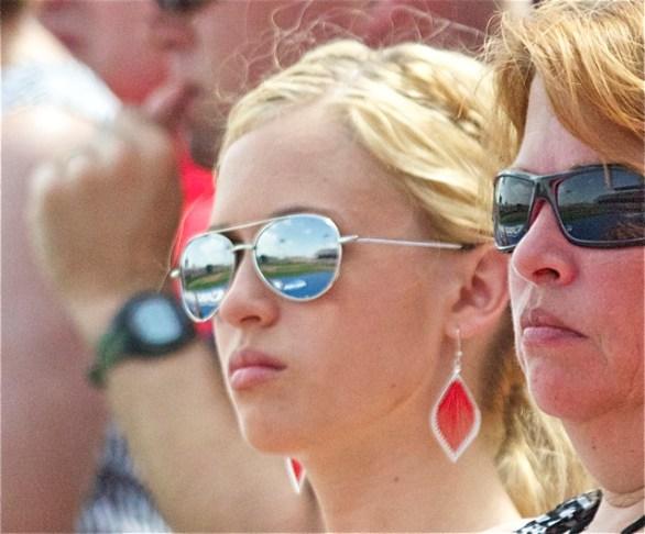 The College World Series seen through the lenses. (Photo: Shotgun Spratling)