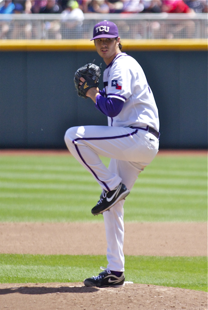 Preston Morrison lowered his season ERA to 1.32. (Photo: Shotgun Spratling)