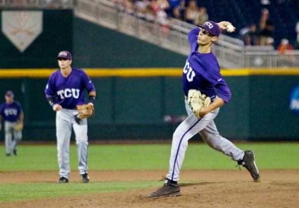 Trey Teakell delivers the final pitch. (Photo: Shotgun Spratling)