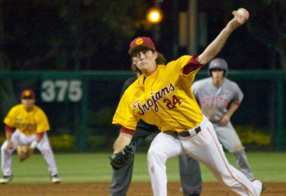 Kyle Twomey pitched really well at times.
