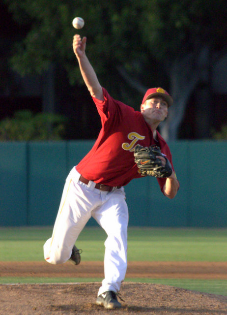 Brent Wheatley pitched well. (Photo: Shotgun Spratling)