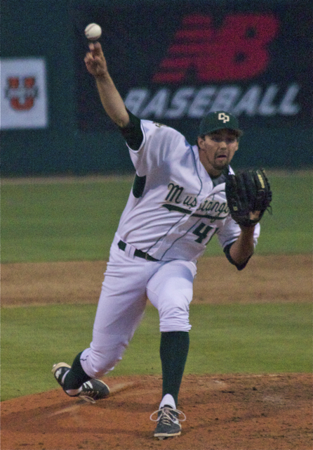 Reed Reilly picked up his 11th save. (Photo: Shotgun Spratling)