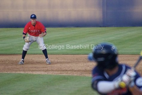 Collin Ferguson played great defense at first base.