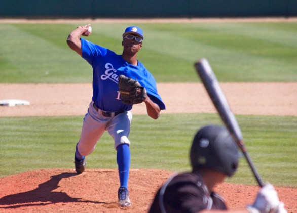 Dillon Tate pitched for the third straight day. (Photo: Shotgun Spratling)