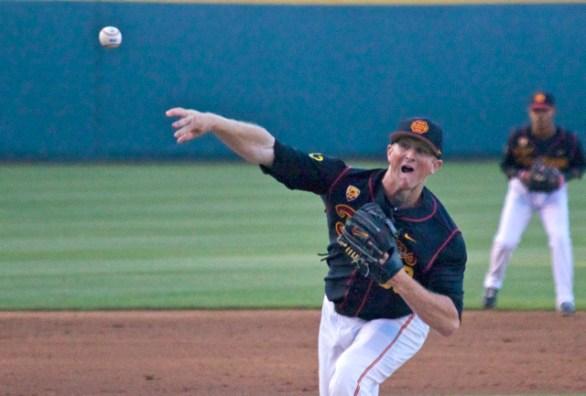 Wyatt Strahan pitched 8 scoreless IP. (Photo: Shotgun Spratling)