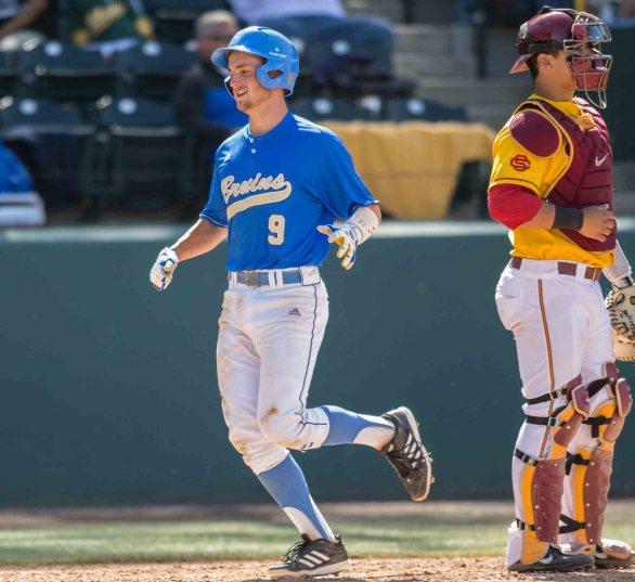 Shane Zeile scored two runs for UCLA. (Photo: Mark Alexander)