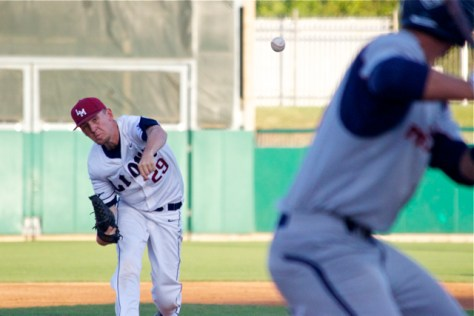 Brenton Arriaga took a no hitter into the sixth inning. (Photo: Shotgun Spratling)