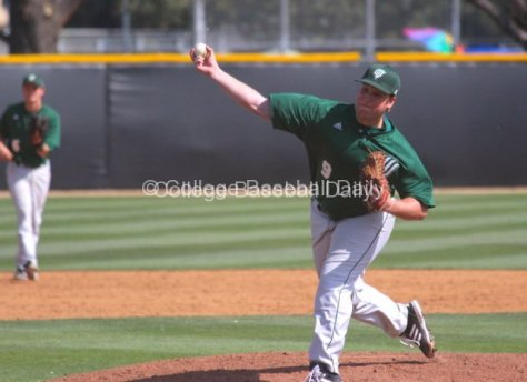 Justin Campbell threw three innings of relief.