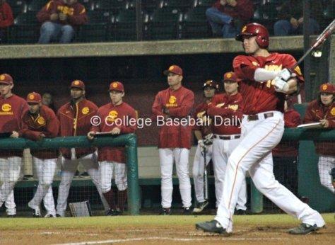 Vahn Bozoian had three hits, including a monster home run.