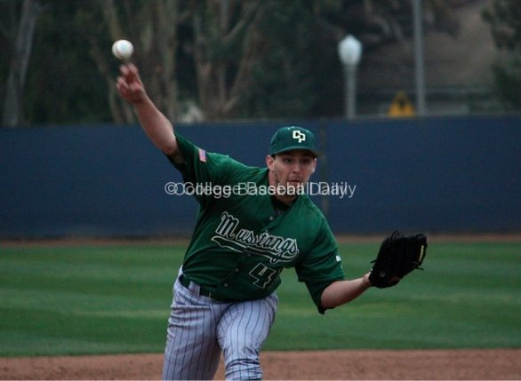 Reed Reilly delivers a fastball