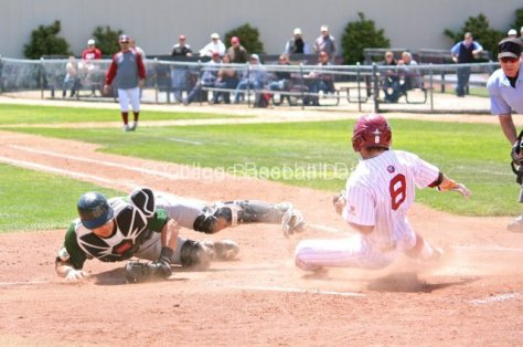 Joey Boney slides in before Morioka's tag.