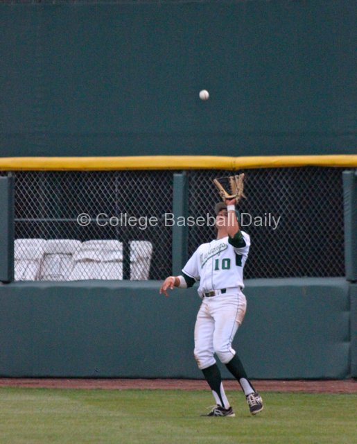 Nick Torres makes a catch in right field.