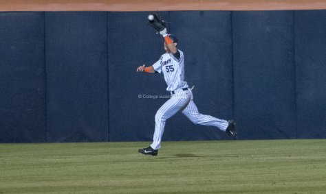 Michael Lorenzen races over.