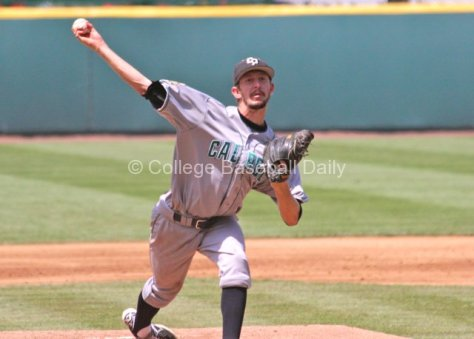 Casey Bloomquist lasted only three innings.