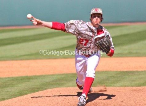 Robert Tasin threw only one pitch.