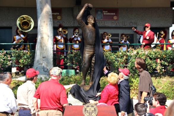 Statue unveiling.