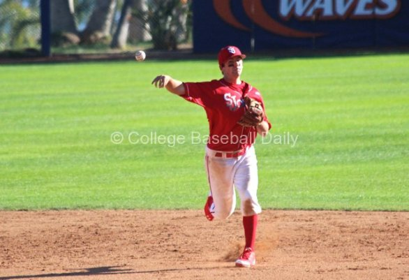 Robert Wayman throws to first. (Photo: Shotgun Spratling)