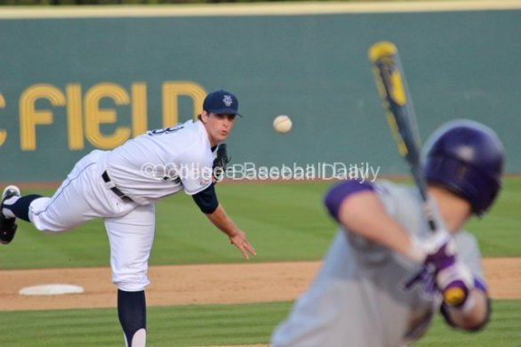 Kyle Hooper was strong through five innings, but was roughed up in the sixth.