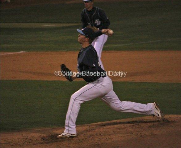 Ryan Keller throws a fastball
