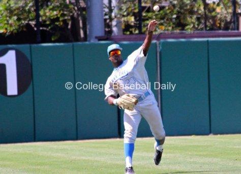 Brenton Allen throws.