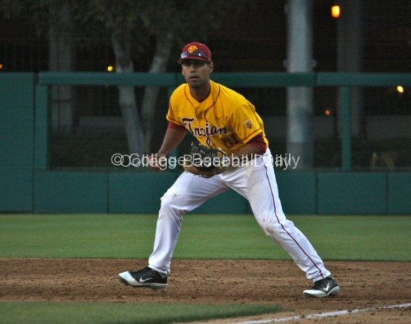 Jake Hernandez at first base.