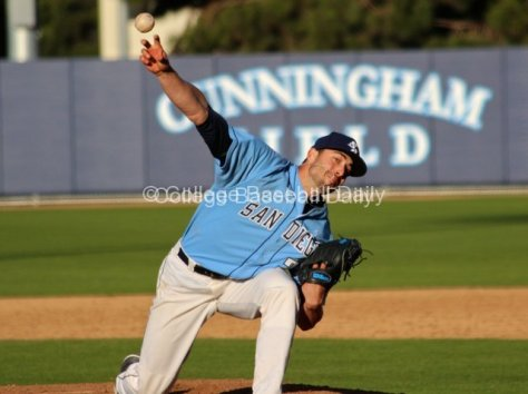 Wes Judish pitched two innings.