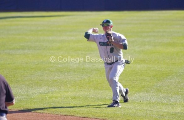 Zac Fuller had one of UVU's two hits.