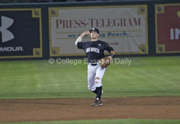 Garrett Hampson had an up-and-down debut. (Photo: Shotgun Spratling)