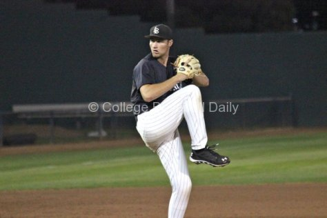 Nick Sabo allowed 1 ER in 5.2 IP. (Photo: Shotgun Spratling)