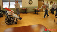 Nebraska Visits Madonna Rehabilitation Hospital