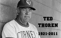 Longtime Cornell Baseball, Football Coach Ted Thoren Passes Away