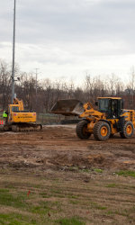 George Washington renovations to Barcroft Park underway