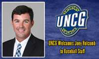 UNC-Greensboro adds Joey Holcomb to Coaching Staff