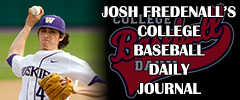 2013 CBD Journal with Washington's Josh Fredenall (Jan. 25th)