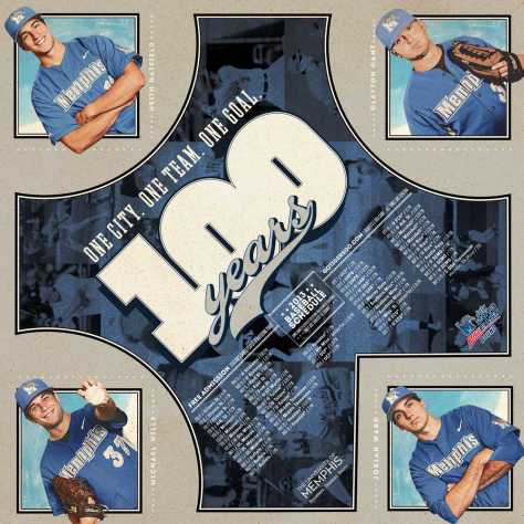 Memphis Baseball Poster