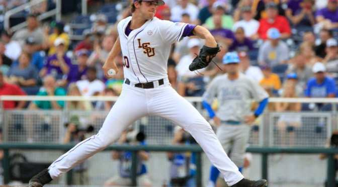 Aaron Nola wins 2014 National Pitcher of the Year Award
