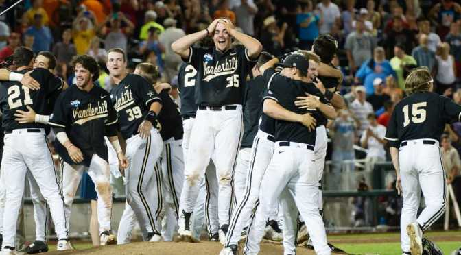 Vanderbilt's Brian Miller wins 2014 College World Series and Proposes