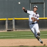Yusuke Akitoshi solidified CSUN's defense up the middle with his play at short