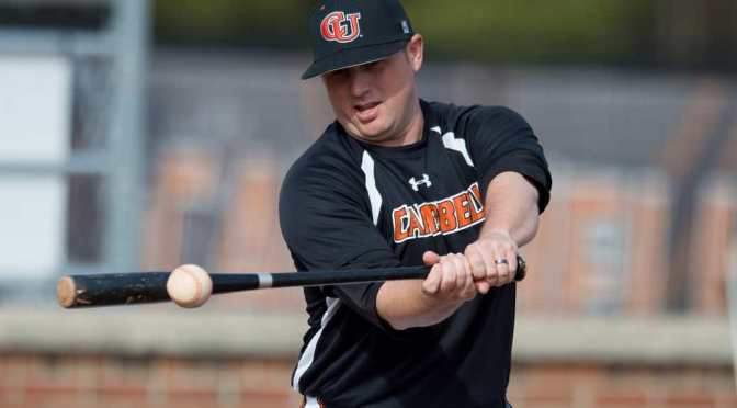 NCAA Baseball: Delaware at Campbell