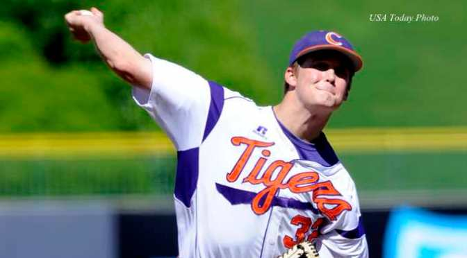 Clemson pitcher Clate Schimidt diagnosed with Cancer