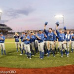Arizona beat UC Santa Barbara 3-0 Wednesday night to eliminate the Gauchos from the CWS at TD Ameritrade Park in Omaha, Neb. (Photo by Michelle Bishop)