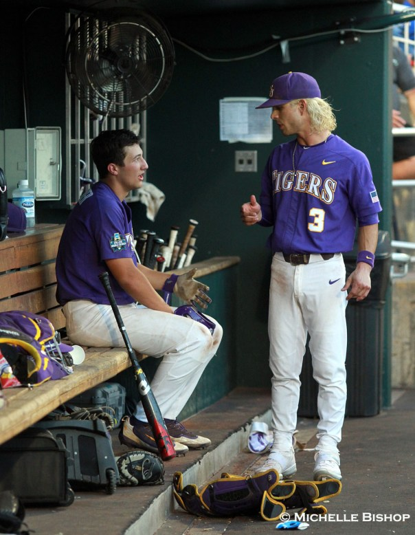 LSU defeated FSU 7-4 at the College World Series on Wednesday, June 21, 2017. (Photo by Michelle Bishop)