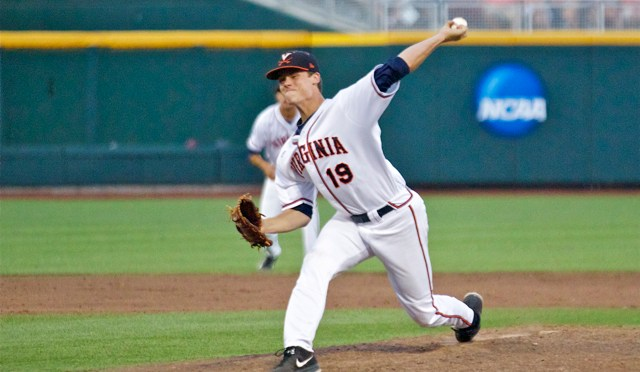 College World Series One-On-One: Virginia LHP Nathan Kirby