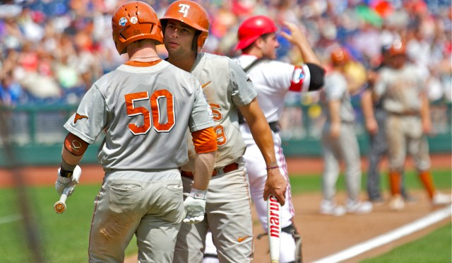 2014 CWS Game 5: Texas 4 Louisville 1