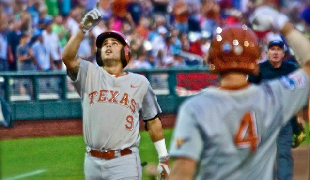 College World Series One-On-One: Texas SS C.J. Hinojosa